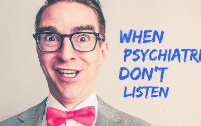 Cuando tu terapeuta no escucha